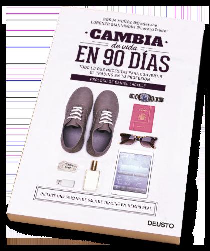 Libro Cambia de vida en 90 días | Libros de Trading | Borjatube | Borja Muñoz Cuesta