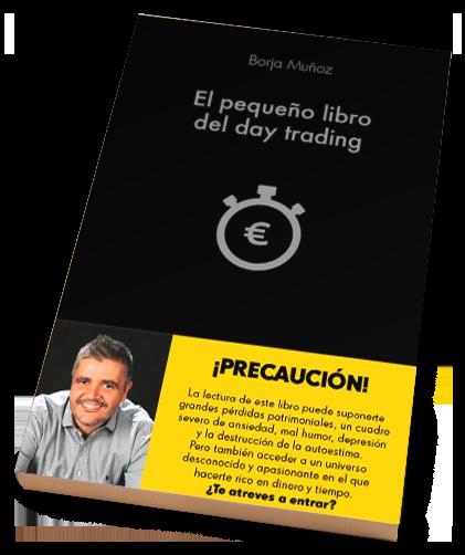 Libro El pequeño libro del day trading | Libros de trading | Borjatube | Borja Muñoz Cuesta